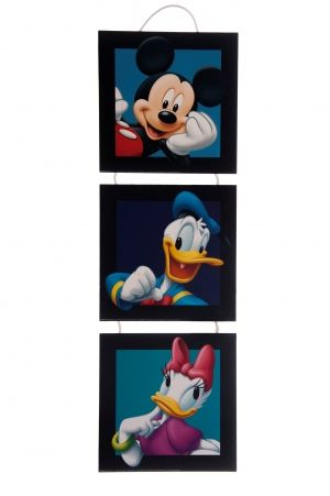 Mickey Mouse 3 parts