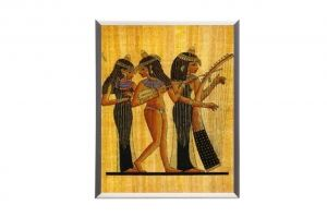 "Mylar framed print ""Egypt  Goddess"""