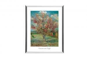 "Mylar framed print ""Blossoming Trees"""