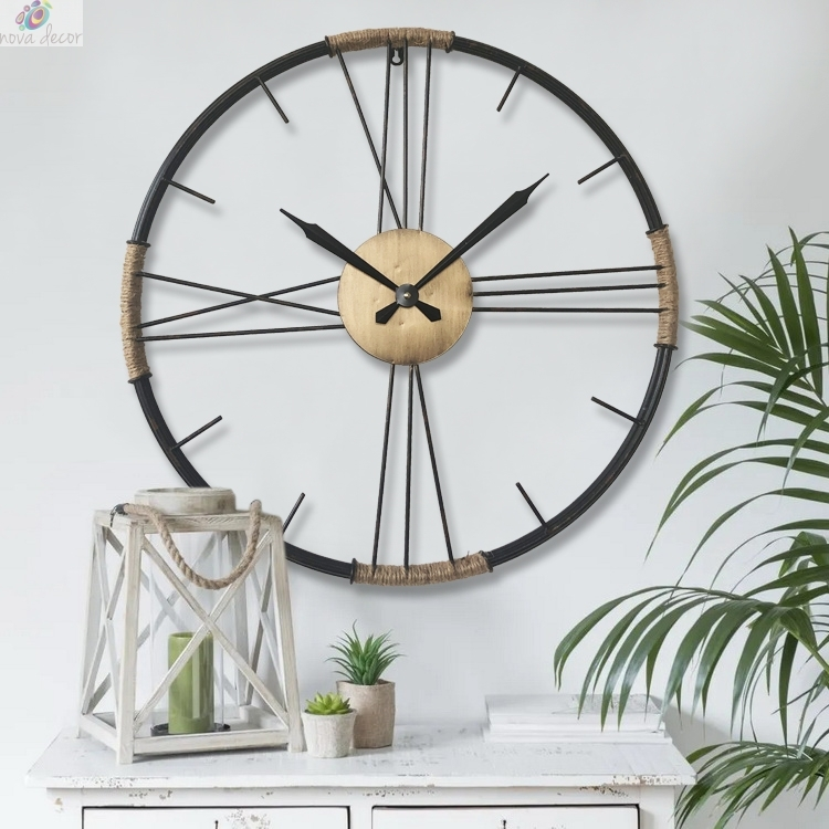Wall Clock Metal
